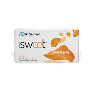 Kauf von Ophtalmic Sweet Progressive (6) Kontaktlinsen