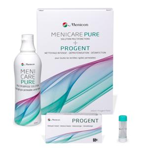 achat produit lentilles Pack 1+1 Menicare Pure & Progent