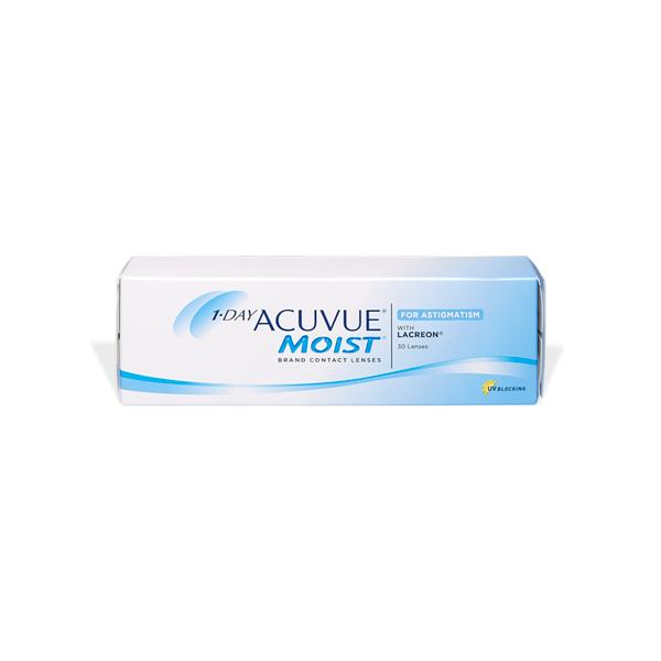 prodotto per la manutenzione 1-Day ACUVUE Moist for Astigmatism (30)