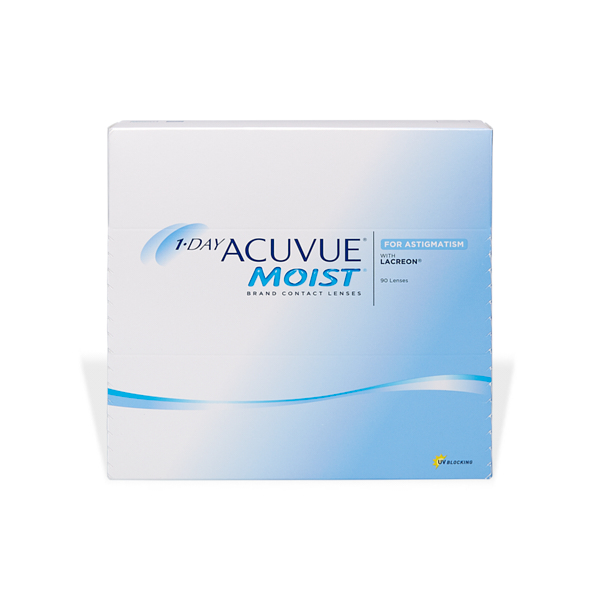 produit lentille 1-Day ACUVUE Moist for Astigmatism (90)