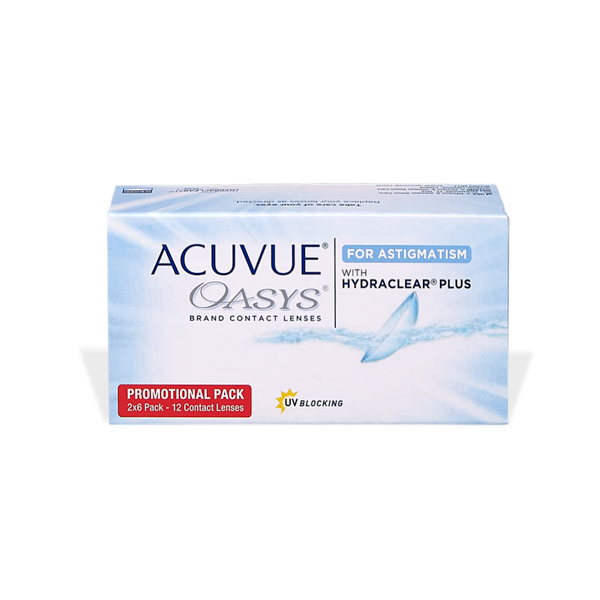 Acuvue Oasys for Astigmatism with Hydraclear Plus (12) Pflegemittel