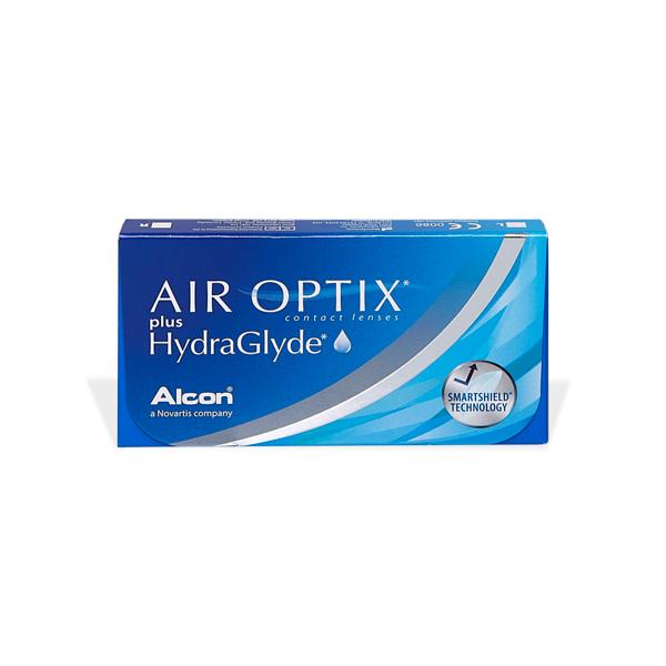 Air Optix Plus Hydraglyde Pflegemittel