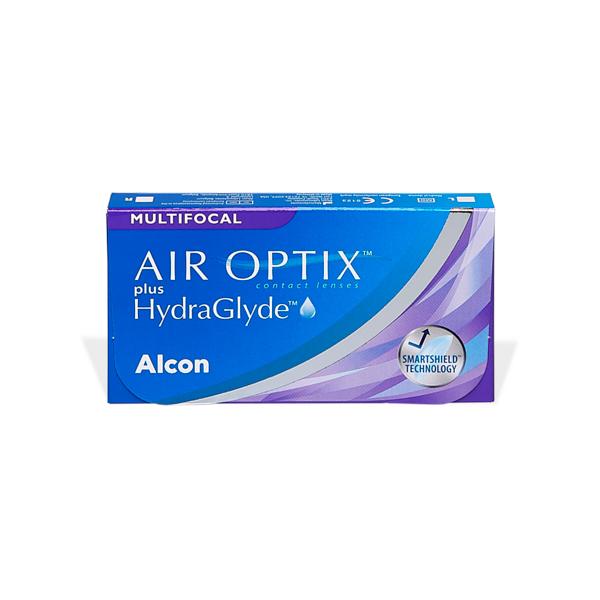 Air Optix Plus Hydraglyde Multifocal (3) Pflegemittel