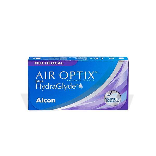 Air Optix Plus Hydraglyde Multifocal 6) Pflegemittel