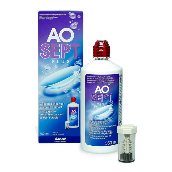 produit lentille Aosept Plus 360ml