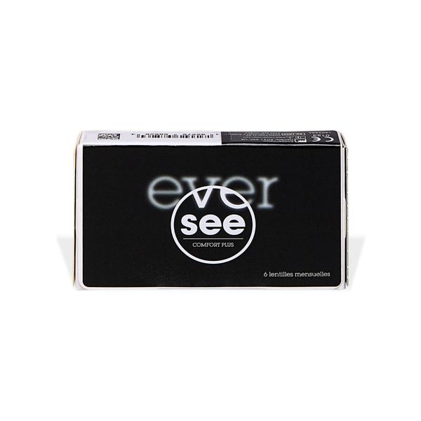 Eversee Comfort Plus Silicone Hydrogel (6) Pflegemittel
