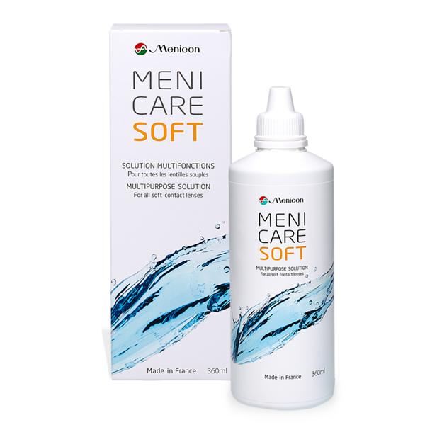 Menicare Soft 360ml Pflegemittel
