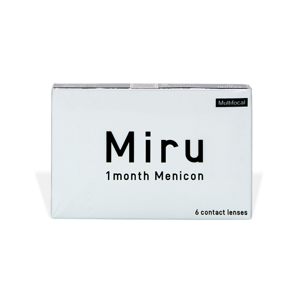 produit lentille Miru 1 month Multifocal