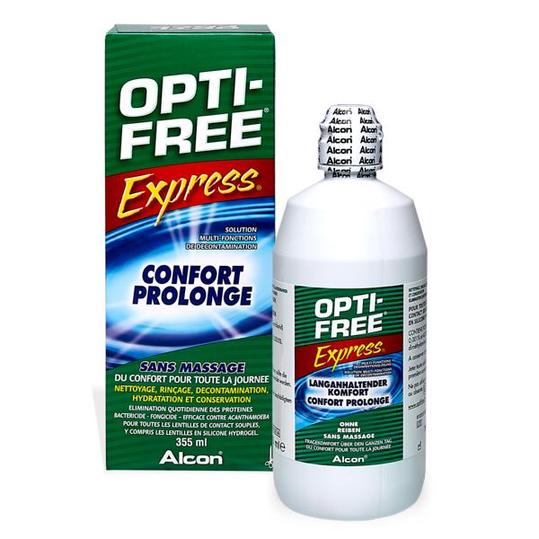 produit lentille OPTI-FREE Express 355ml