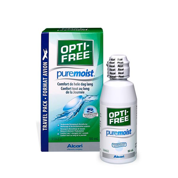produit lentille OPTI-FREE puremoist 90ml
