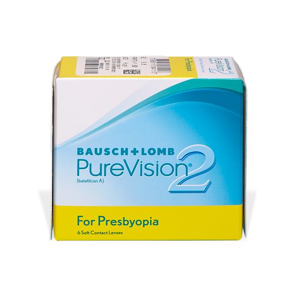 produit lentille PureVision 2 pour Presbytes