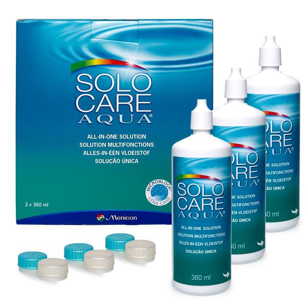SOLOCARE AQUA 3x360ml Pflegemittel