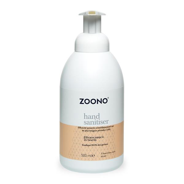 prodotto per la manutenzione zoono hand sanitiser 500ml