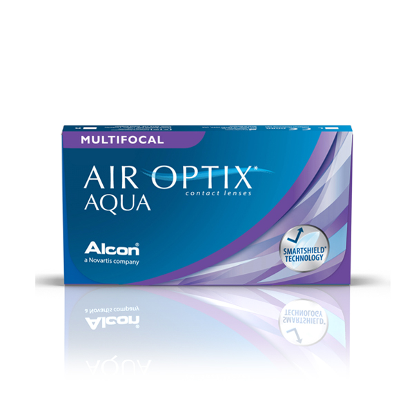 Lentilles de contact Air Optix Aqua Multifocal