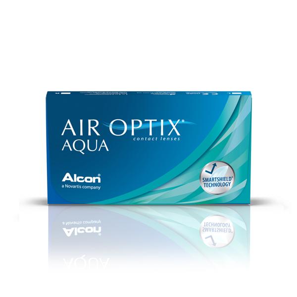 produit lentille Air Optix Aqua