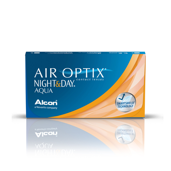 nákup kontaktných šošoviek Air Optix AQUA Night & Day