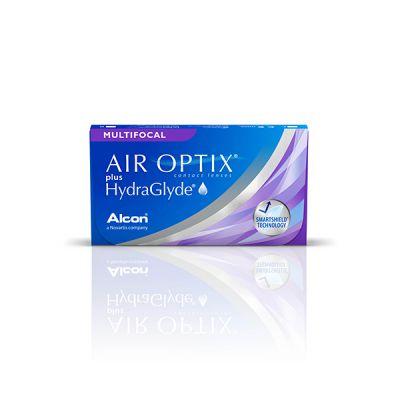 prodotto per la manutenzione Air Optix plus Hydraglyde multifocal 3
