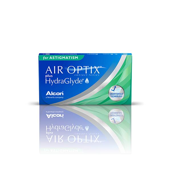 šošovky Air Optix plus Hydraglyde for Astigmatism (6)