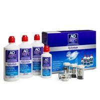produit lentille Aosept Plus Hydraglyde 3x360 ml + 90 mL