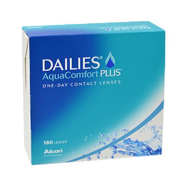 šošovky DAILIES AquaComfort Plus (180)