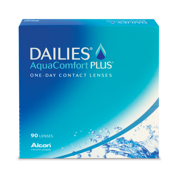 Lentilles de contact DAILIES AquaComfort Plus 90