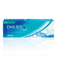 nákup kontaktních čoček DAILIES AquaComfort Plus Toric 30