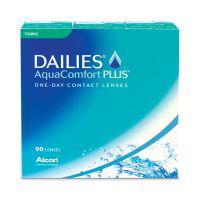 achat lentilles DAILIES AquaComfort Plus Toric 90