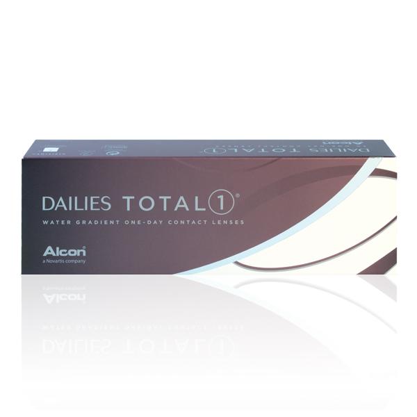 nákup kontaktných šošoviek DAILIES TOTAL 1 30