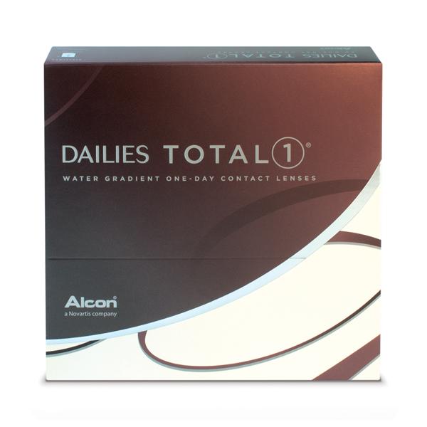 nákup kontaktných šošoviek DAILIES TOTAL 1 90