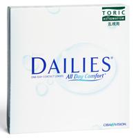 nákup kontaktných šošoviek Focus DAILIES All Day Comfort Toric 90