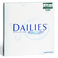 Lentilles de contact Dailies All Day Comfort Toric 90