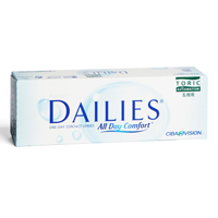 Lentillas Focus DAILIES All Day Comfort Toric 30