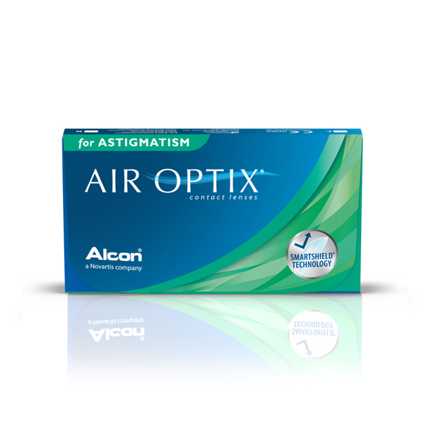 šošovky Air Optix for Astigmatism