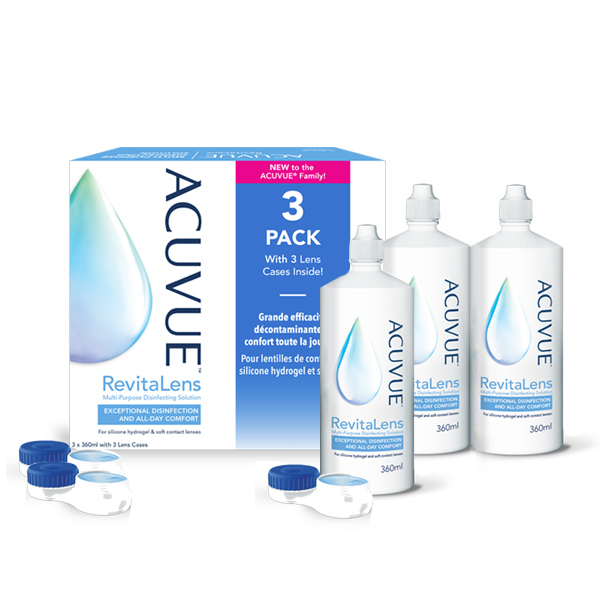 Płyn Acuvue Revitalens 3x360ml