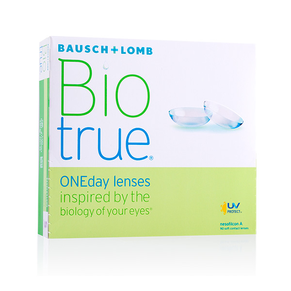 Lentilles de contact Biotrue One Day 90