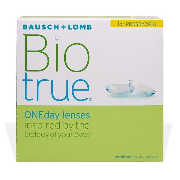 šošovky Biotrue One Day For Presbyopia 90