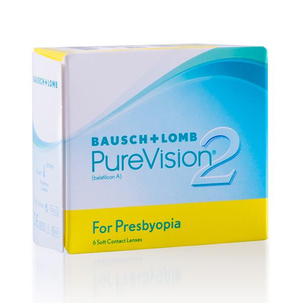 achat lentilles PureVision 2 pour Presbytes