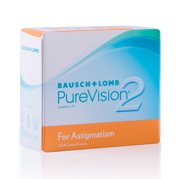 achat lentilles PureVision 2 HD pour Astigmates