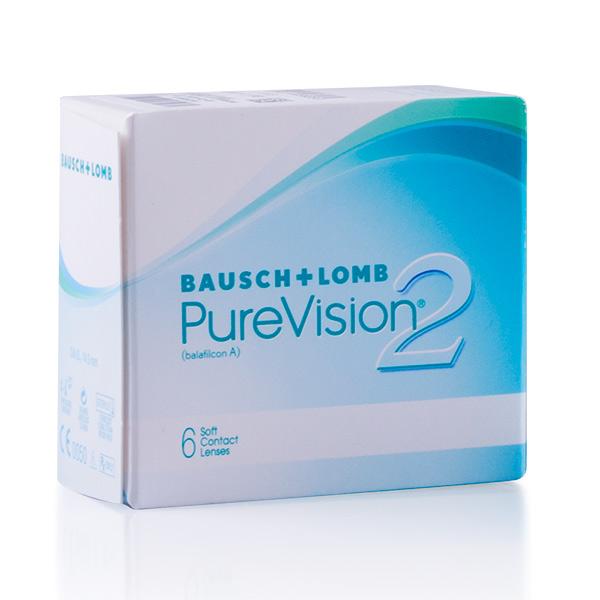 achat lentilles PureVision 2 HD