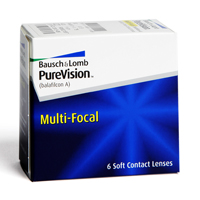 šošovky PureVision Multi-Focal