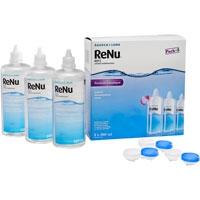 Kontaktlencse ápoló Pack Renu Eco MPS 3X360ml