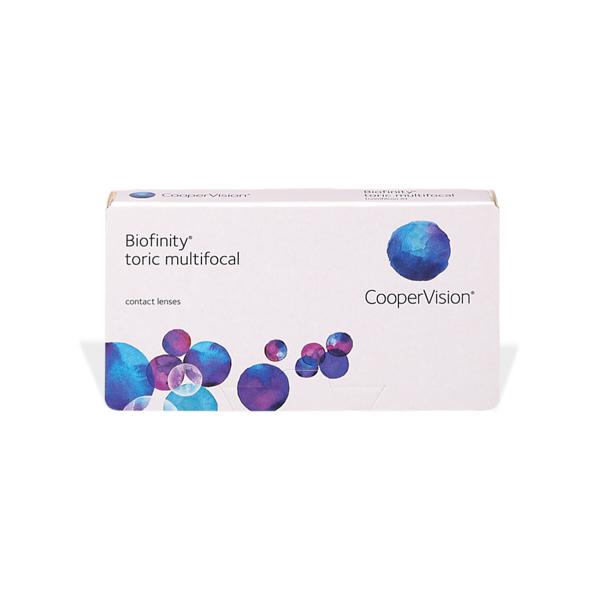 čočky Biofinity Multifocal Toric