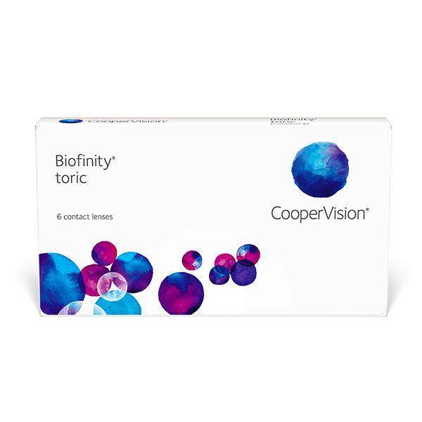nákup kontaktných šošoviek Biofinity Toric 6