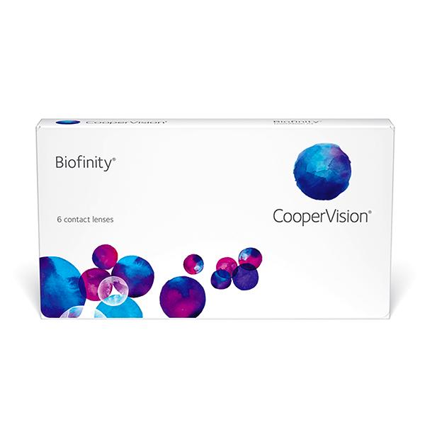 nákup kontaktních čoček Biofinity