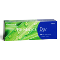 achat lentilles Biomedics 1 Day 30