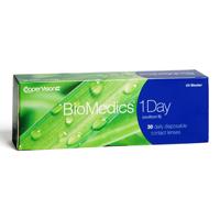 nákup kontaktných šošoviek BioMedics 1 Day 30