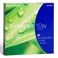 nákup kontaktných šošoviek BioMedics 1 Day 90