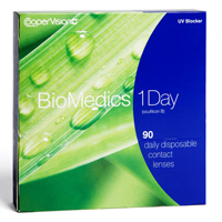 Lentilles de contact Biomedics 1 Day 90