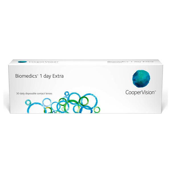 nákup kontaktných šošoviek BioMedics 1 Day Extra 30