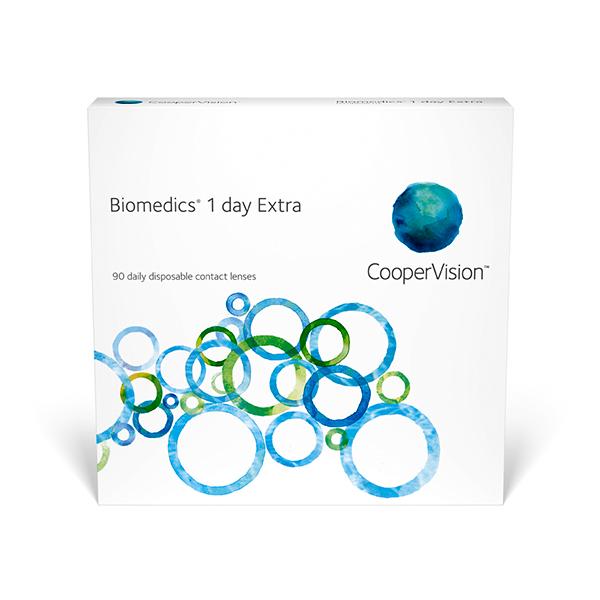 kontaktlencsék Biomedics 1 day Extra (90)
